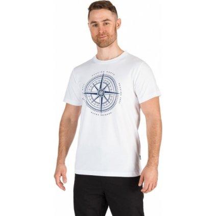 Pánské triko SAM 73 s krátkým rukávem bílá