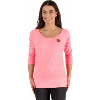 Dámské triko s 3/4 rukávem SAM 73 růžová