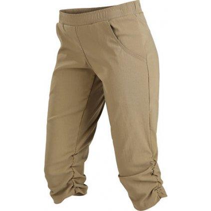 Dámské 3/4 kalhoty LITEX bokové béžová