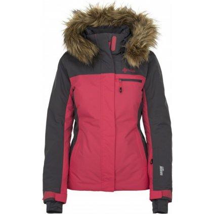 Dámská lyžařská bunda KILPI Milva-w růžová