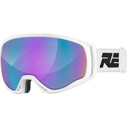 Lyžařské brýle RELAX Hero bílá