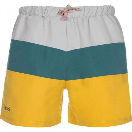 Pánské koupací šortky KILPI Swimy-m žlutá