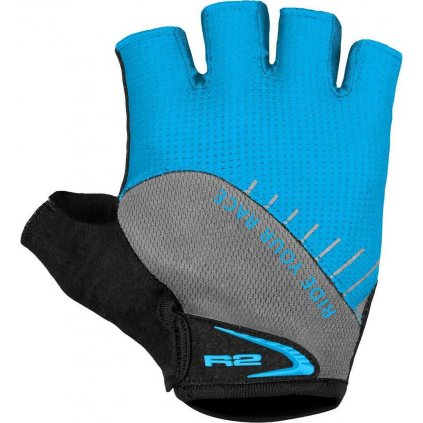 Cyklistické rukavice R2 Vouk modrá