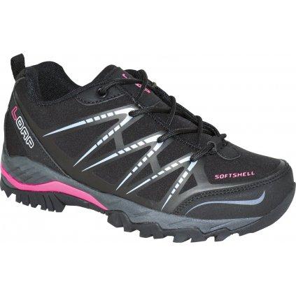 Dámské outdoorové boty LOAP Erskine W černá