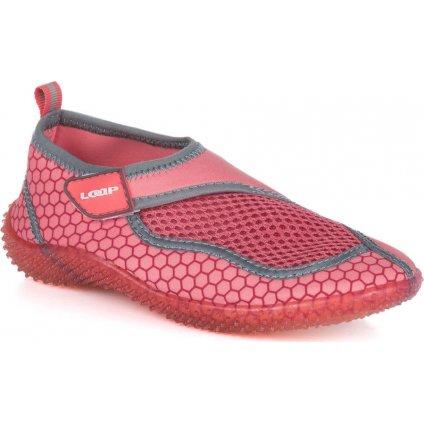 Dětské boty do vody LOAP Cosma Kid růžová