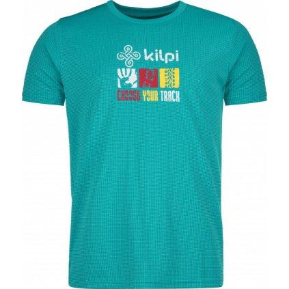 Pánské funkční tričko KILPI Giacinto-m tyrkysová