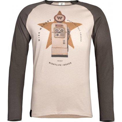 Pánské tričko WOOX Sentinam Fuscus
