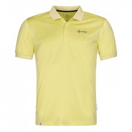 Pánské funkční polo tričko KILPI Collar-m žlutá