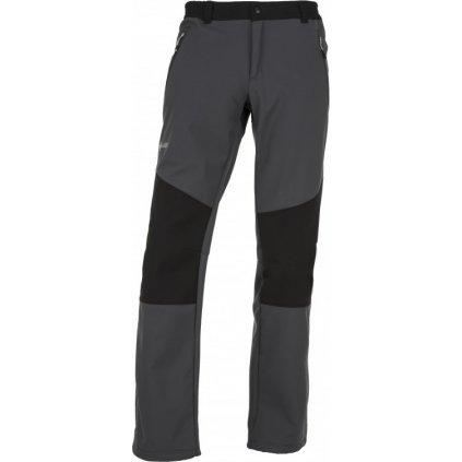 Pánské softshellové kalhoty KILPI Manilou-m tmavě šedá