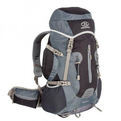 Turistický batoh HIGHLANDER Rocky 35+5l černá/šedá