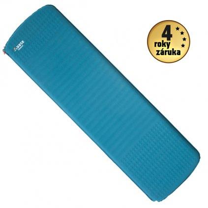 Samonafukovací karimatka YATE Trekker 3,8 modrá/šedá