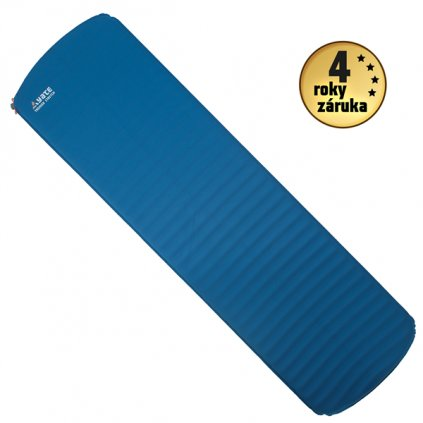 Samonafukovací karimatka YATE Trekker Stretch 3,8 modrá/šedá