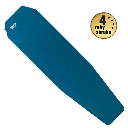 Samonafukovací karimatka YATE Extrem Lite 3,8 modrá/šedá