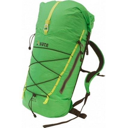 Turistický batoh YATE Shilo 30+10l zelený