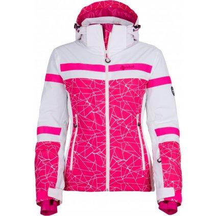 Dámská lyžařská bunda KILPI Ananke-w růžová