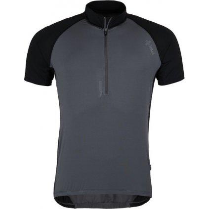 Pánský cyklistický dres KILPI Chaser-m tmavě šedá