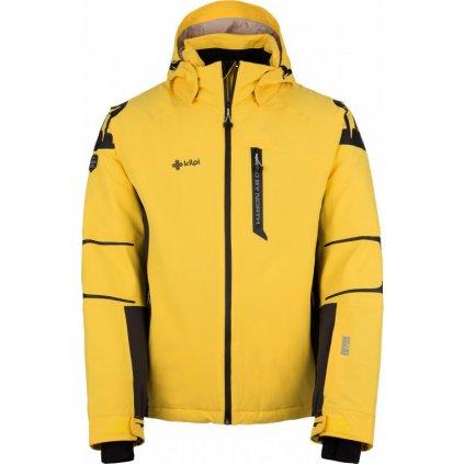 Pánská lyžařská bunda KILPI Carpo-m žlutá