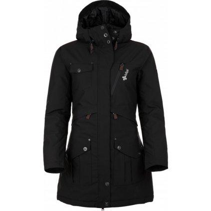 Dámský zimní kabát KILPI Brasil-w černá