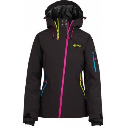 Dámská lyžařská bunda KILPI Asimetrix-w černá