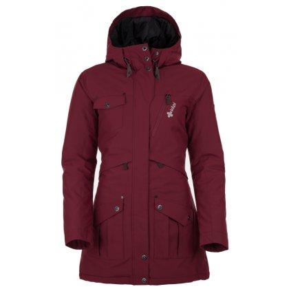 Dámský zimní kabát KILPI Brasil-w červená