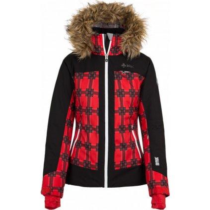 Dámská lyžařská bunda KILPI Darja-w červená