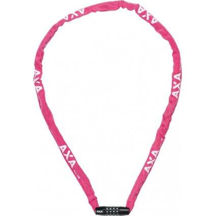 AXA zámek Rigid chain RCC 120 kód růžová