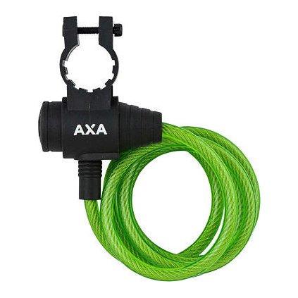 AXA zámek Zipp 120/8 klíč zelená