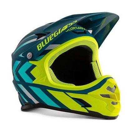BLUEGRASS helma INTOX modrá/reflex žlutá -58/60