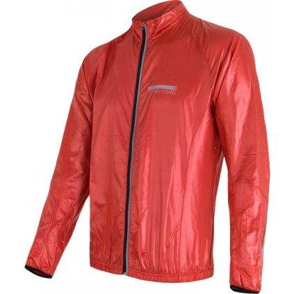 Pánská bunda SENSOR Parachute extralite červená