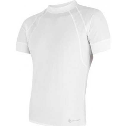 Pánské funkční tričko SENSOR Coolmax Air bílá