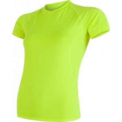 Dámské funkční tričko SENSOR Coolmax fresh žlutá