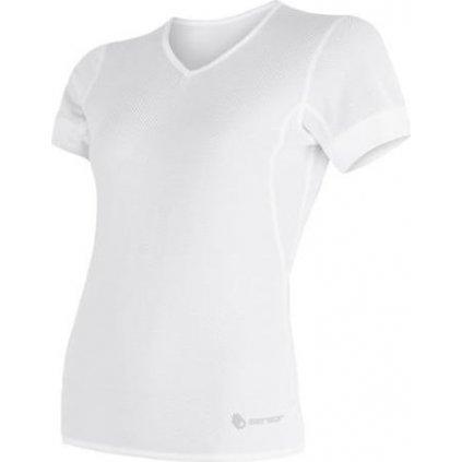 Dámské funkční triko SENSOR Coolmax Air bílá