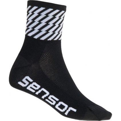 Ponožky SENSOR Race flash černá