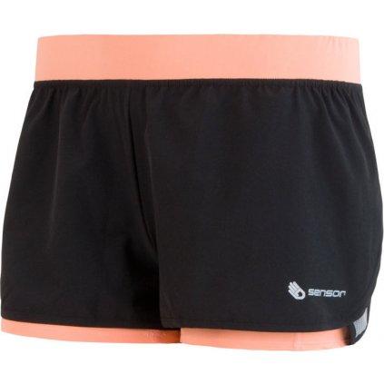 SENSOR TRAIL dámské šortky černá/apricot
