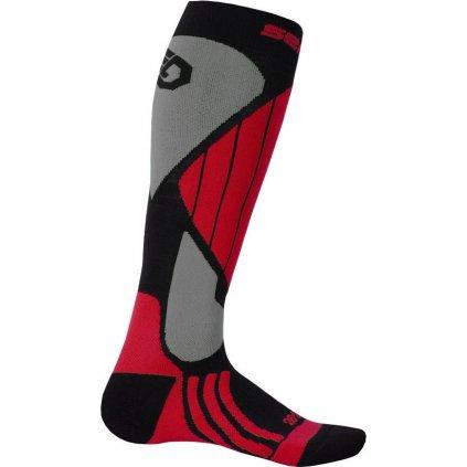 Ponožky SENSOR Snow pro merino červená
