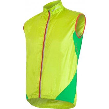 Pánská vesta SENSOR Parachute extralite zelená