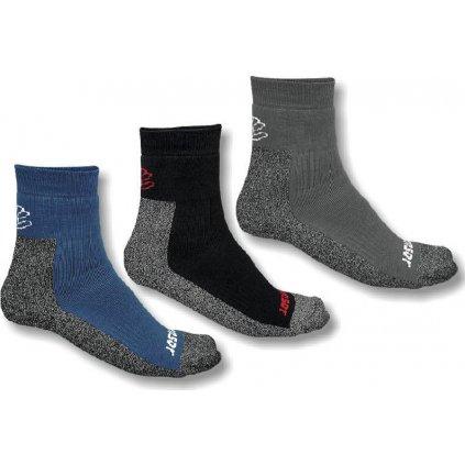 Ponožky SENSOR Treking šedá/černá/modrá