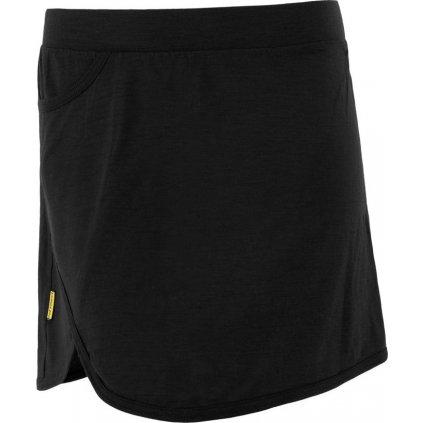 Dámská termo sukně SENSOR Merino active černá