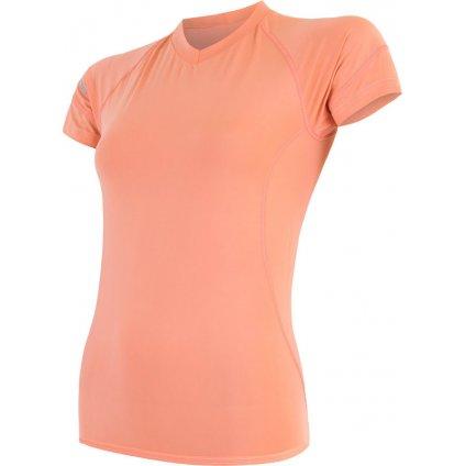 Dámské funkční tričko SENSOR Coolmax fresh oranžová