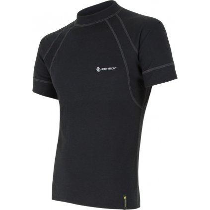 Pánské funkční tričko SENSOR Double face černá