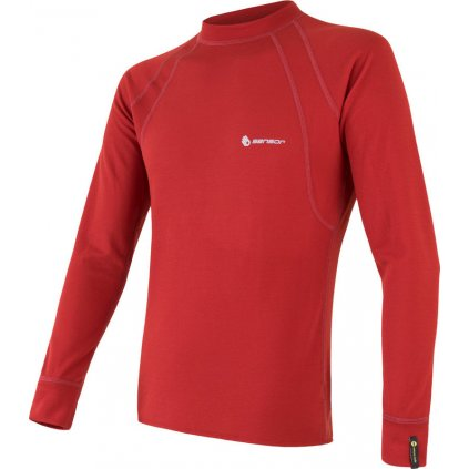 Pánské termo tričko SENSOR Double face červená