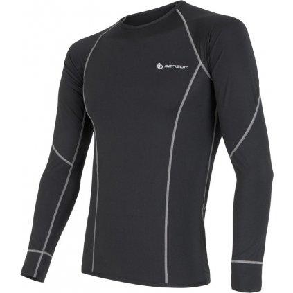 Pánské funkční tričko SENSOR Coolmax fresh černá