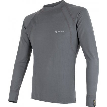 Pánské termo tričko SENSOR Double face šedá