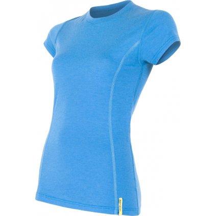 Dámské termo tričko SENSOR Merino active modrá