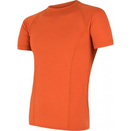 Pánské termo tričko SENSOR Merino air oranžová
