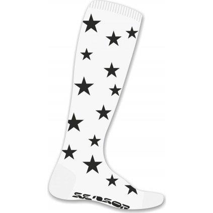 Ponožky SENSOR Thermosnow stars bílá