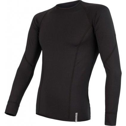 Pánské funkční tričko SENSOR Coolmax tech černá