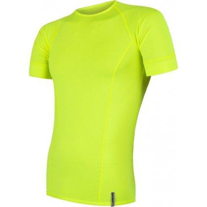 Pánské funkční tričko SENSOR Coolmax tech žlutá