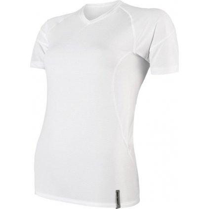 Dámské funkční tričko SENSOR Coolmax tech bílá