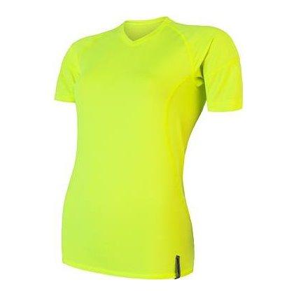 Dámské funkční tričko SENSOR Coolmax tech žlutá